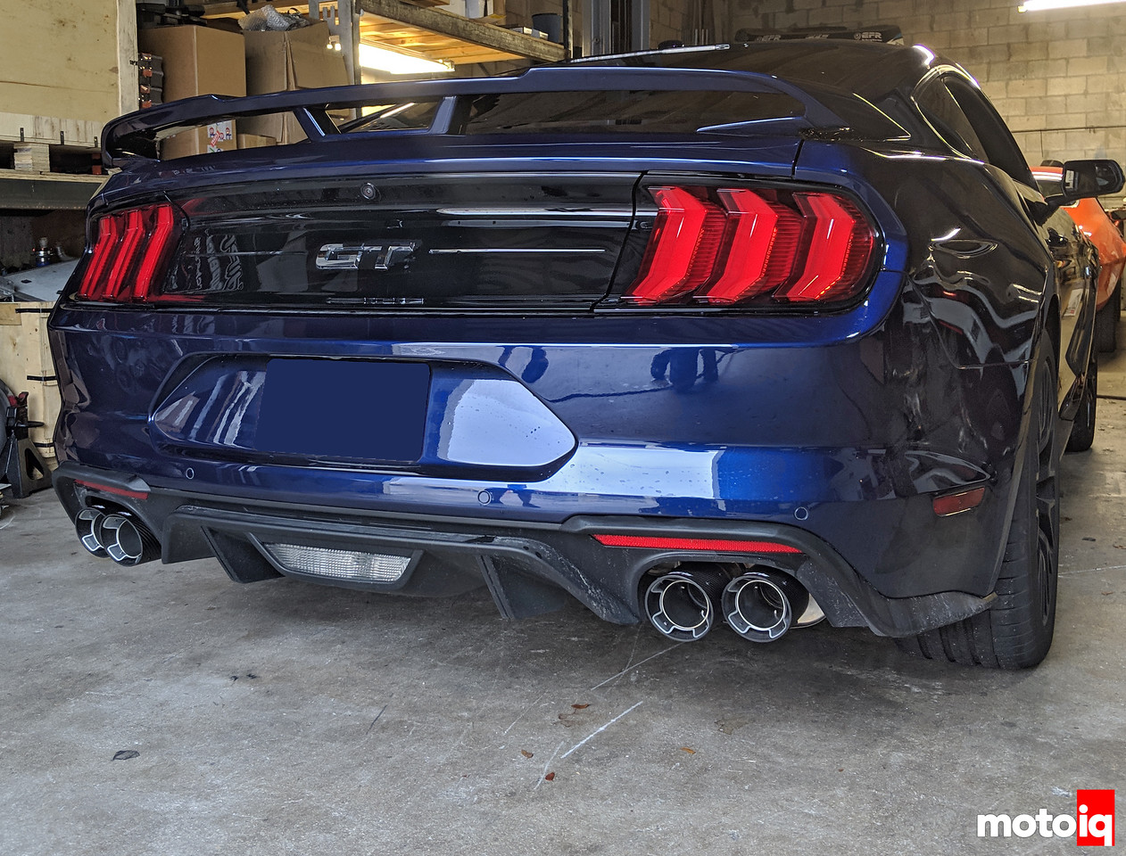 exhaust for the 2018 mustang gt