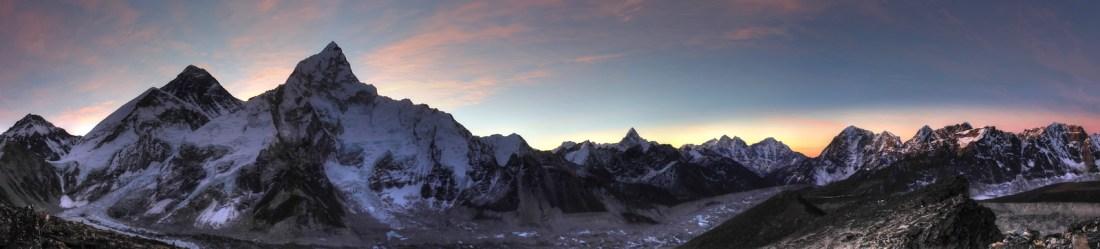 Kala Pattar Sunrise Panorama