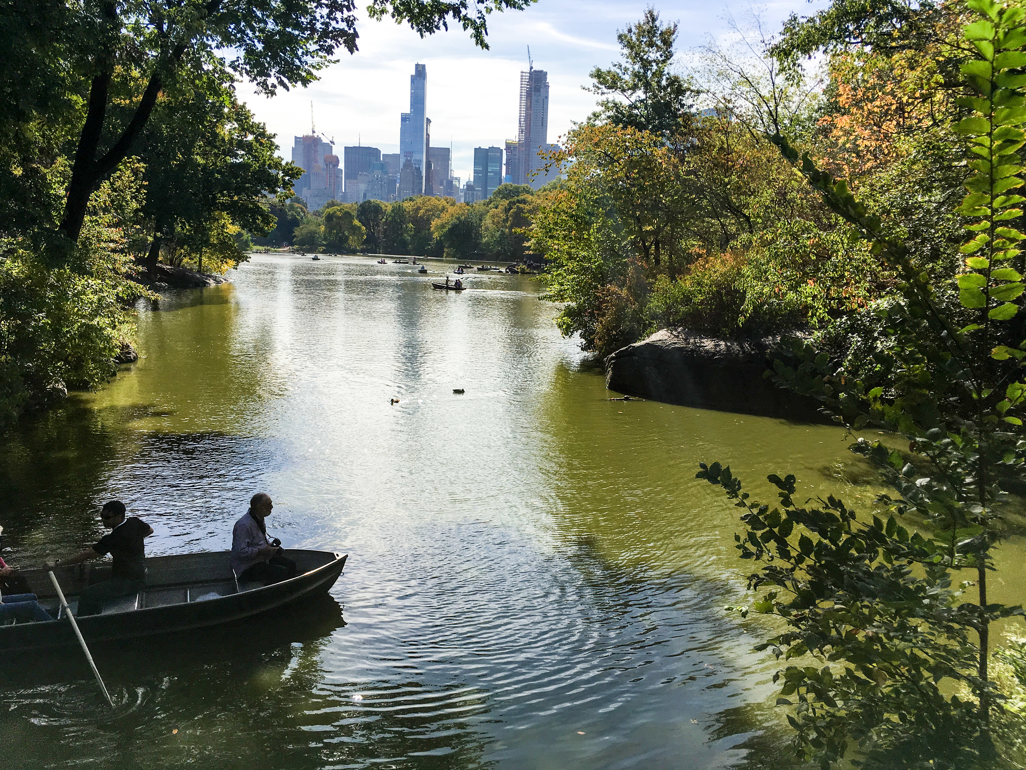 new york packing list fall: wear comfortable shoes to explore central park