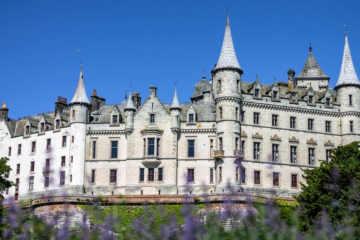 Dunrobin Castle, Scotland, North Coast 500 Route