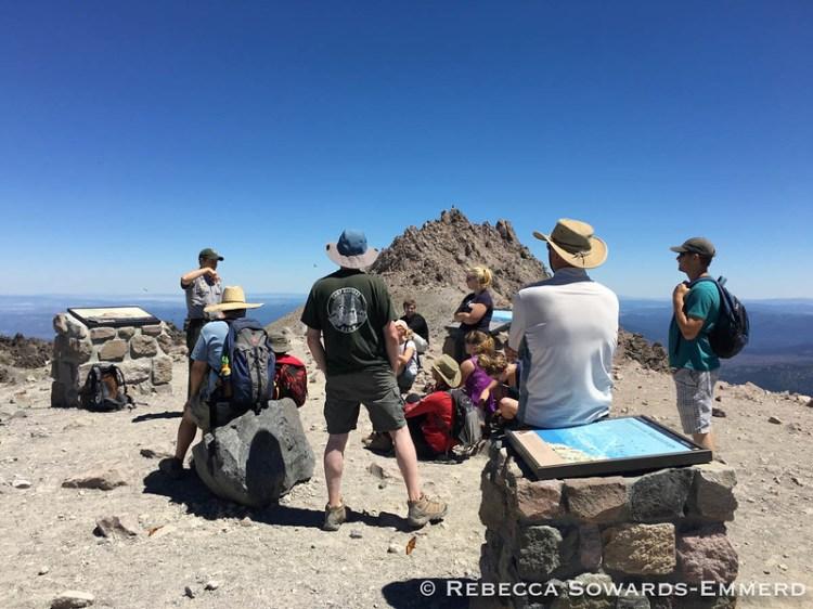 Summit Ranger Talk on the Volcanic history of Lassen Peak