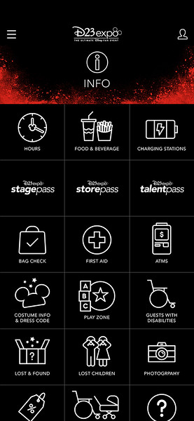 d23 expo mobile app 20191