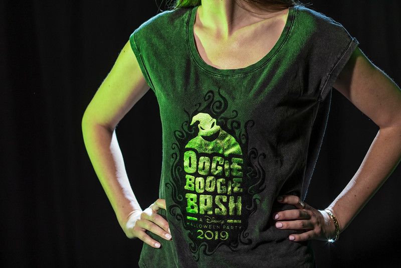 Halloween Time at Disneyland Resort – Oogie Boogie Bash Women's Tee