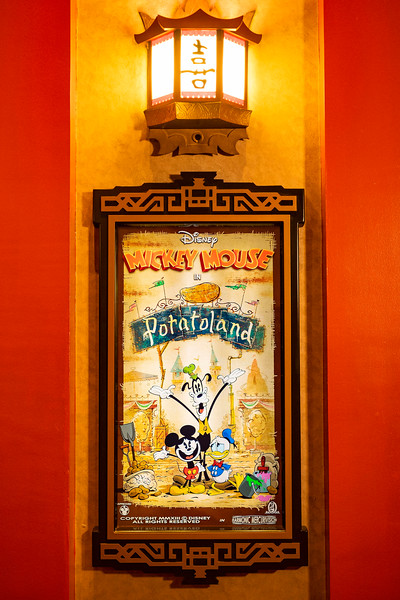 'Potatoland' Poster in Mickey & Minnie's Runaway Railway