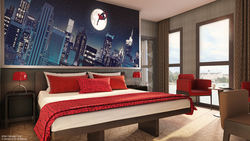 Disneyland Paris Hotel New York – Art of Marvel