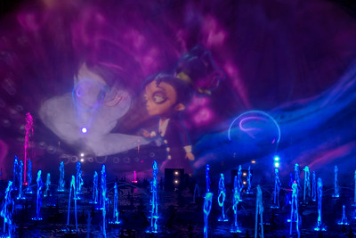 """New """"World of Color"""" Show during Oogie Boogie Bash at Disney California Adventure Park"""