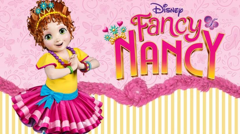 fancy nancy character greet
