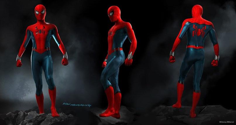 spiderman disney marvel land