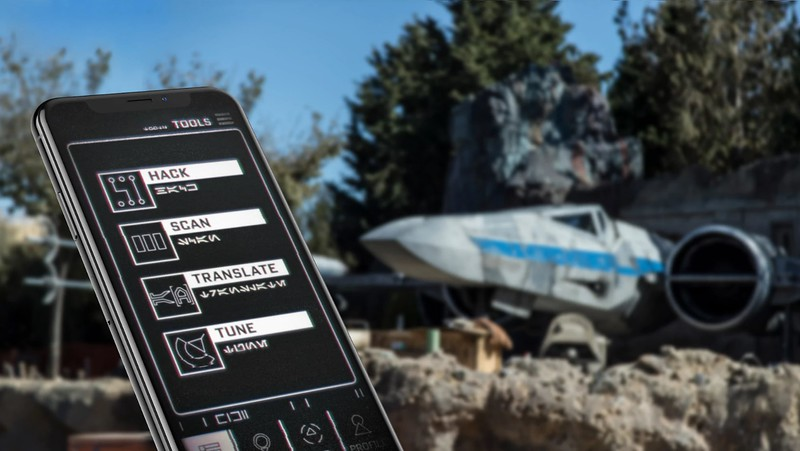star wars galaxys edge disney play app
