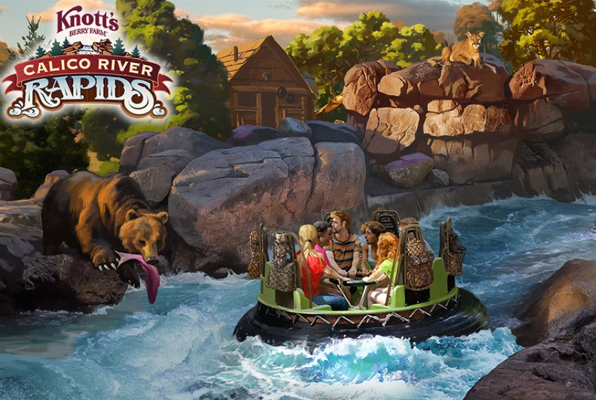 Hero - Calico River Rapids Rendering With Logo Small