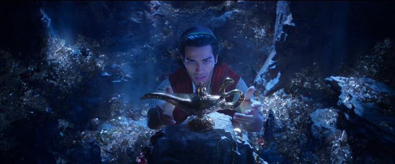 ALADDIN sneak peek preview coming to Disneyland, DHS
