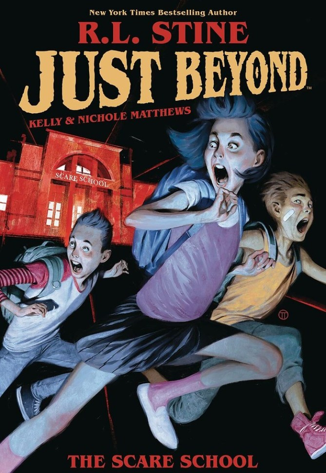 Just Beyond Cover Art Courtesy of Boom Studios[1]