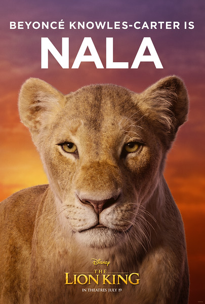 Beyonce as Nala features in new clip for THE LION KING