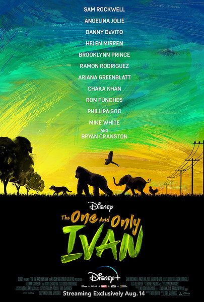 THE ONE AND ONLY IVAN keyart poster