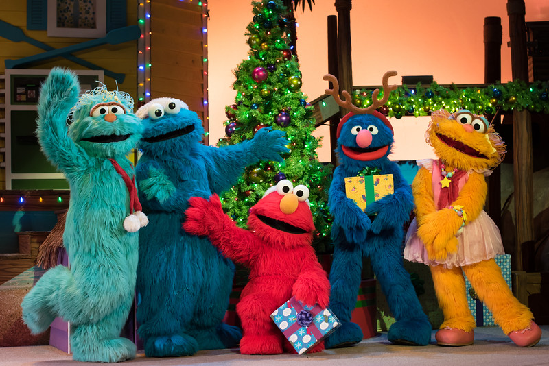 Sesame Street Christmas Village at SeaWorld