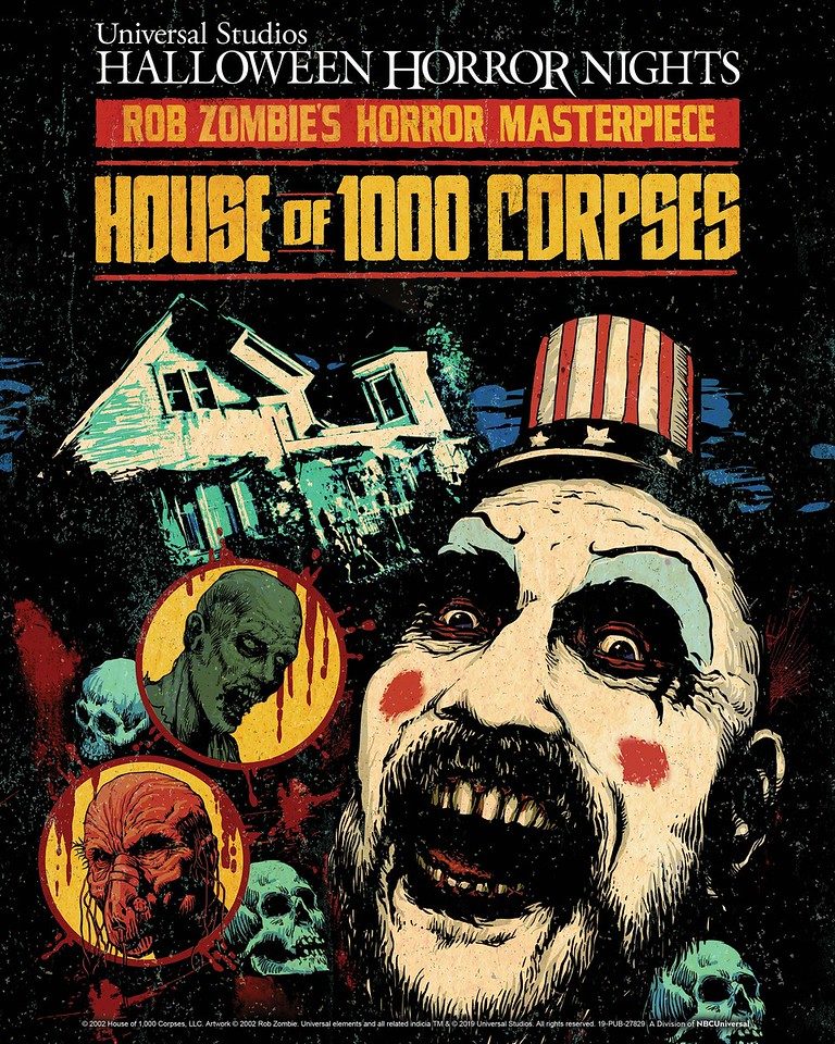 """Rob Zombie's Cult Classic Movie from Lionsgate """"House of 1000 Corpses"""" is the Inspiration for Universal Studios Hollywood and Universal Orlando Resort's All-New Twisted """"Halloween Horror Nights"""" Maze"""