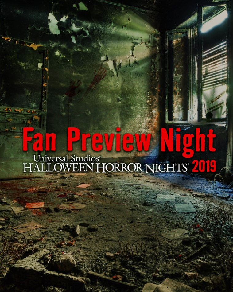 """Universal Studios Hollywood Jump Starts """"Halloween Horror Nights"""" on Thursday, September 12, Offering Guests an Exclusive First Look Preview Before It Officially Opens on Friday, September 13"""