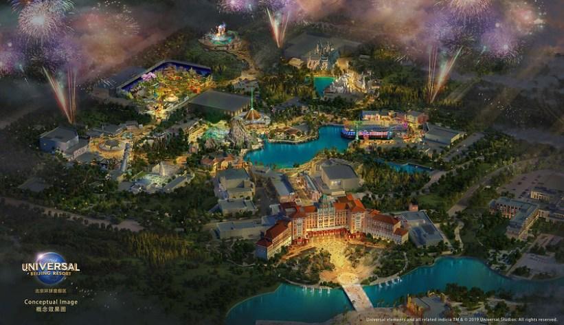 universal beijing resort - concept map