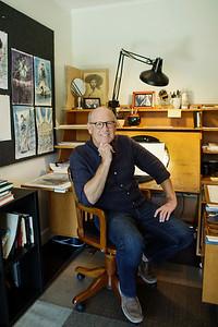 Glen Keane at his animation desk<br /> Monica Hervey, 2017