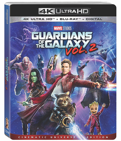 REVIEW: 4K release of GUARDIANS OF THE GALAXY VOL. 2 dazzles with high def magic, extra goodies
