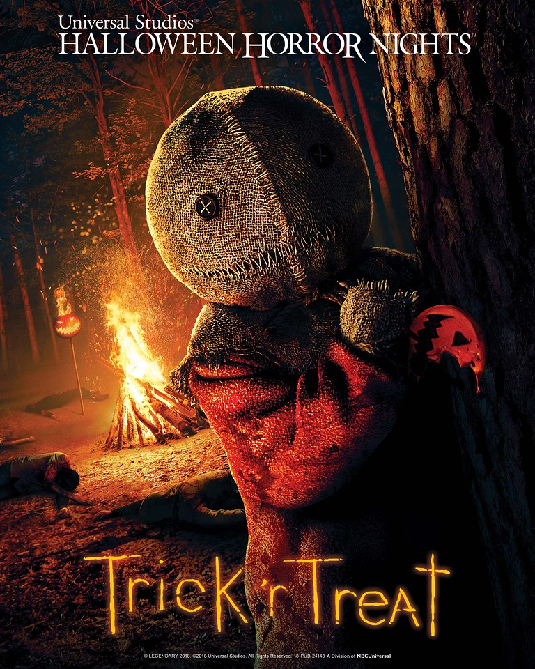 LEGENDARY PICTURES' ICONIC HORROR FILM TRICK 'R TREAT TO TERRIFY HALLOWEEN RULE-BREAKERS IN ALL-NEW MAZES AT UNIVERSAL STUDIOS' HALLOWEEN HORROR NIGHTS