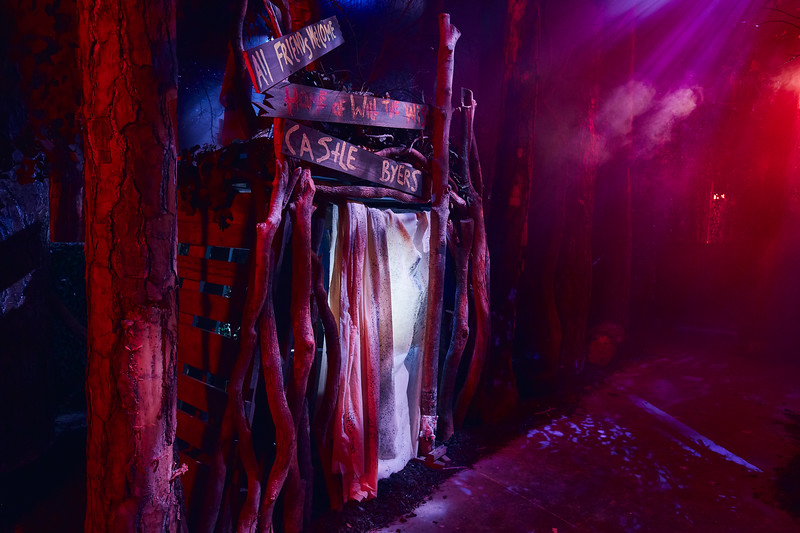 """Today, Universal Studios reveals first look images from the """"Stranger Things"""" haunted houses coming to Halloween Horror Nights 2018."""