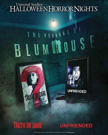 The Horrors of Blumhouse maze at USH-HHN 2018