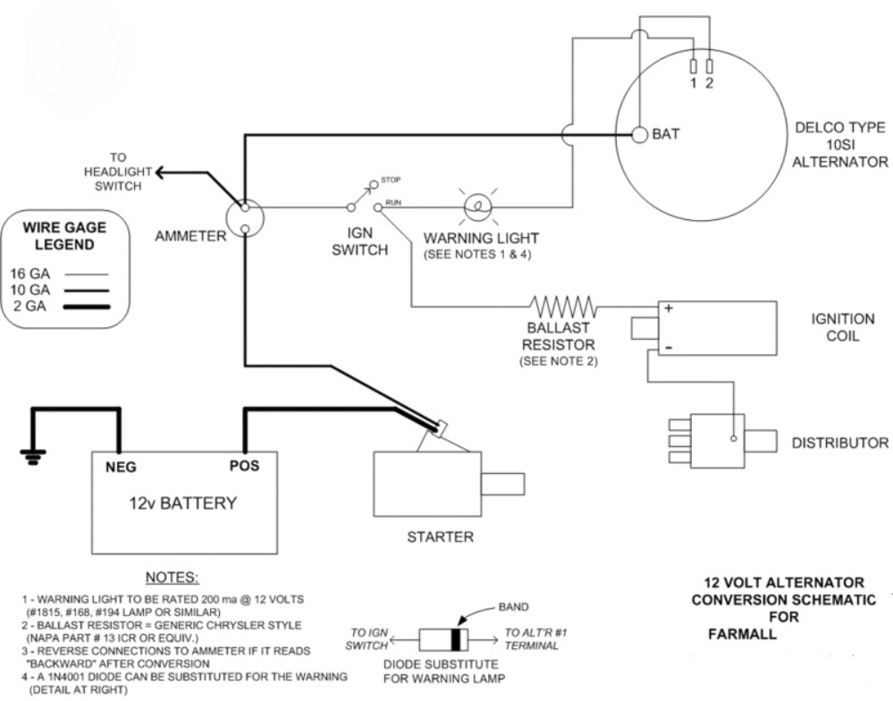 12 Volt Switch Wiring Diagram Farmall H Wiring Source