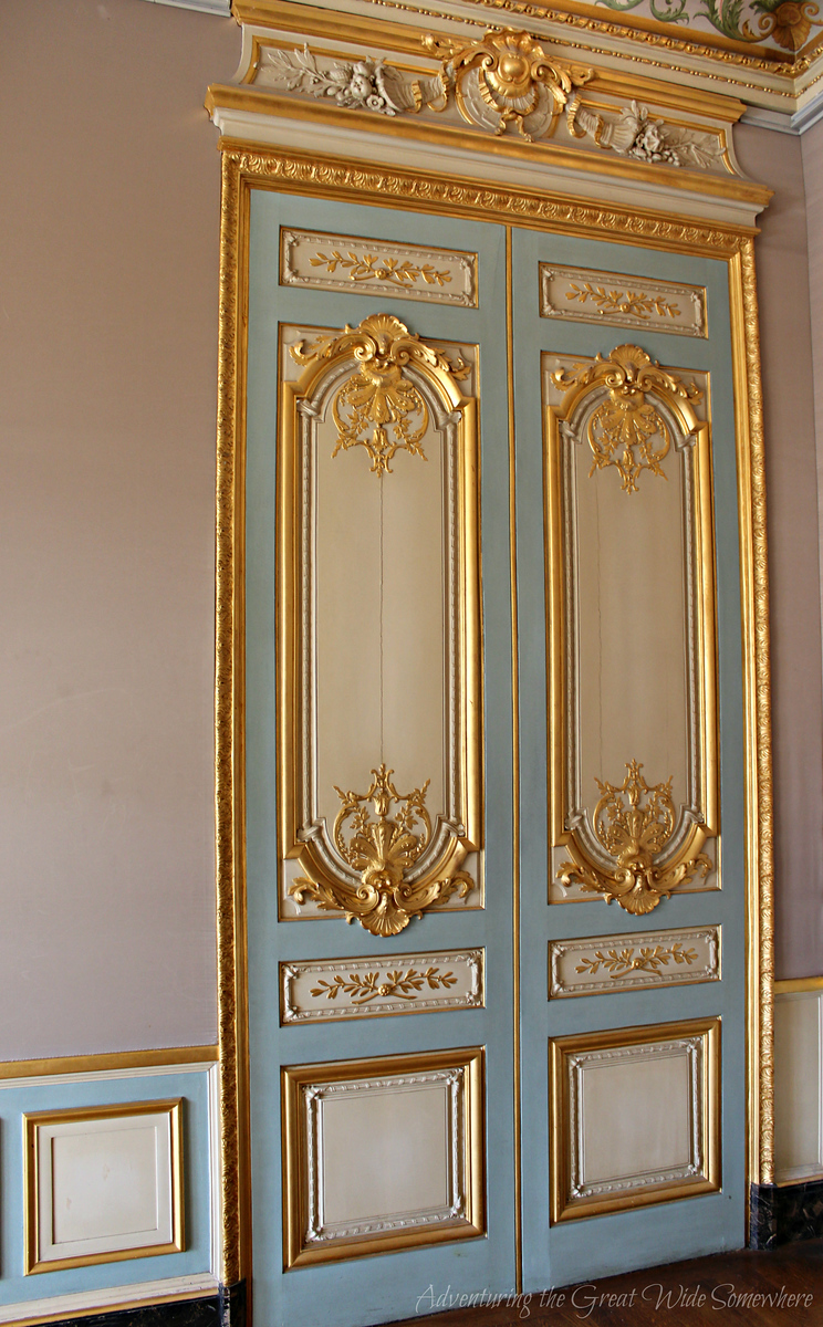 A very pretty door in Napoleon's personal apartments.