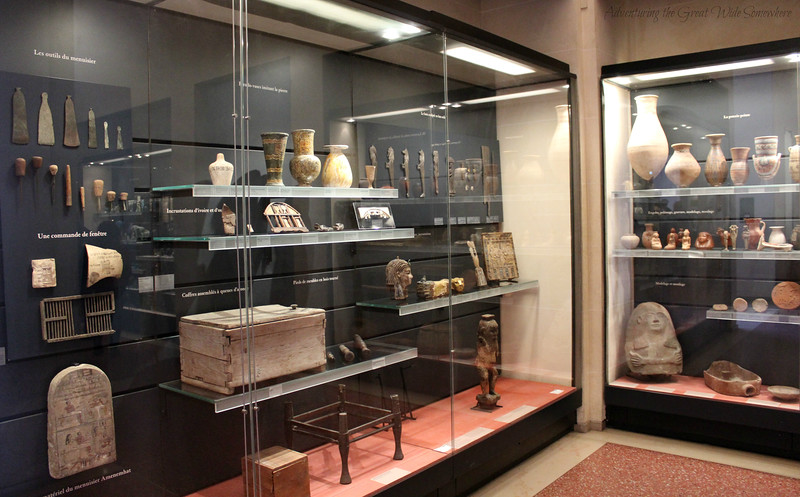Ancient Egyptian housewares, tools, and more on display at the Louvre