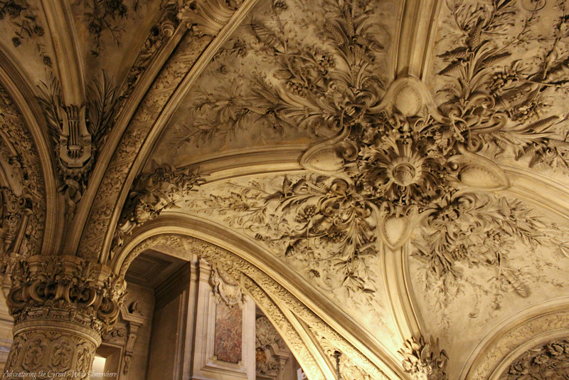 Stunning Carved Details in the Entry to the Palais Garnier in France