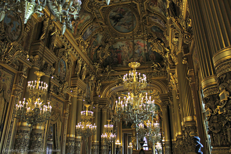 Grand Foyer Du Palais Garnier : Parisian glitz glamour at the palais garnier
