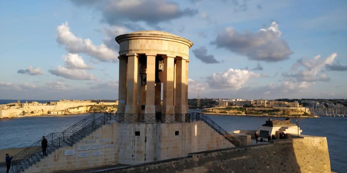Self-Guided Valletta Walking Tour - Siege Bell Memorial