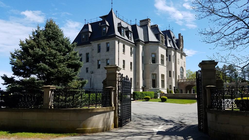 Mansion along Cliff Walk Rhode Island