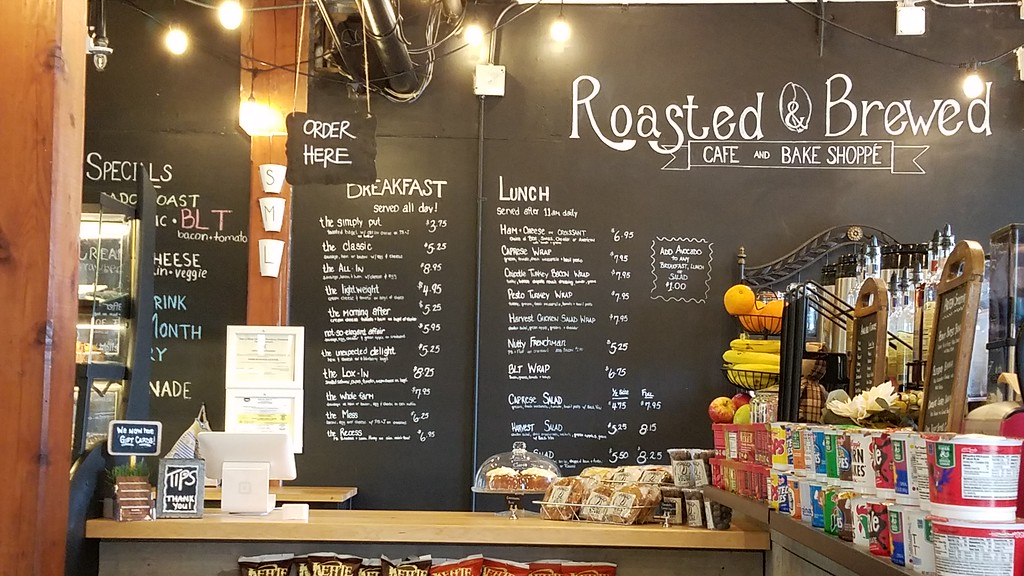 Coffee shop in Rhode Island