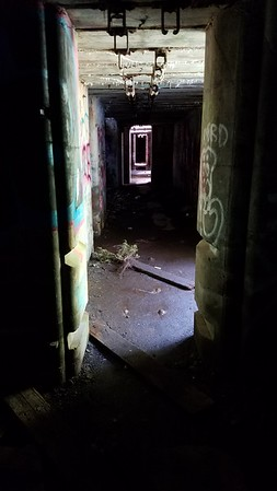 Spooky passage in the fort