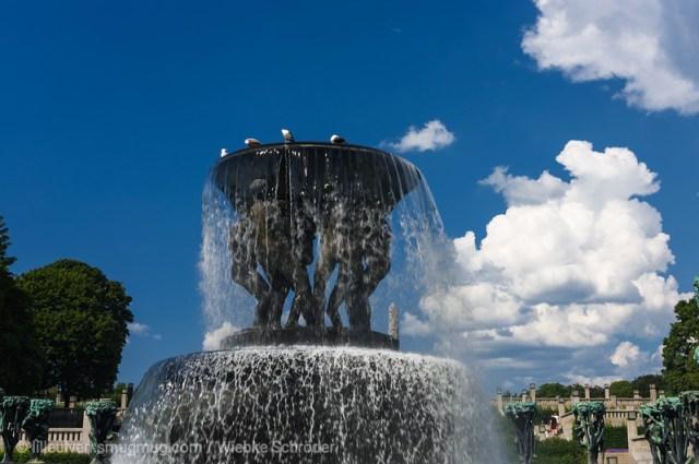 Fountain in the Vigelandsparken