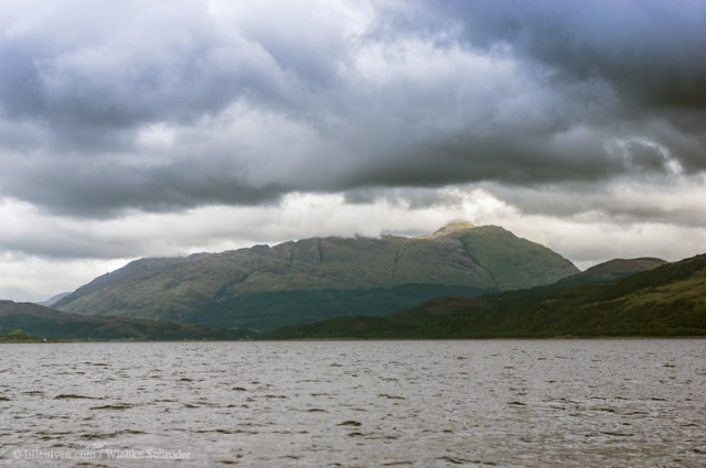 Shoreline of Loch Linnhe