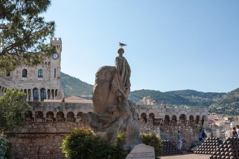 Princes's Palace in Monaco