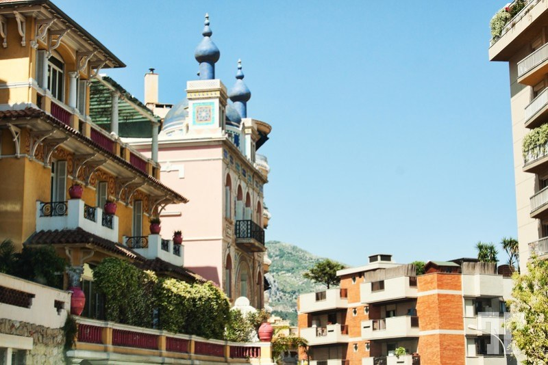 Luxuious buildings in Monte Carlo