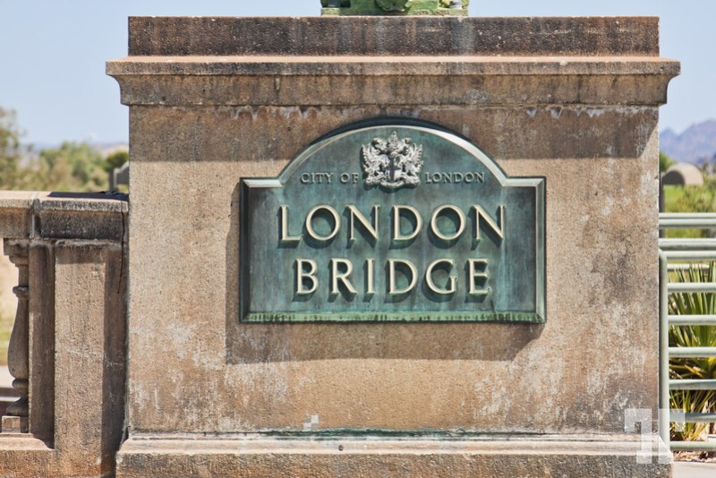 London Bridge - City of London sign