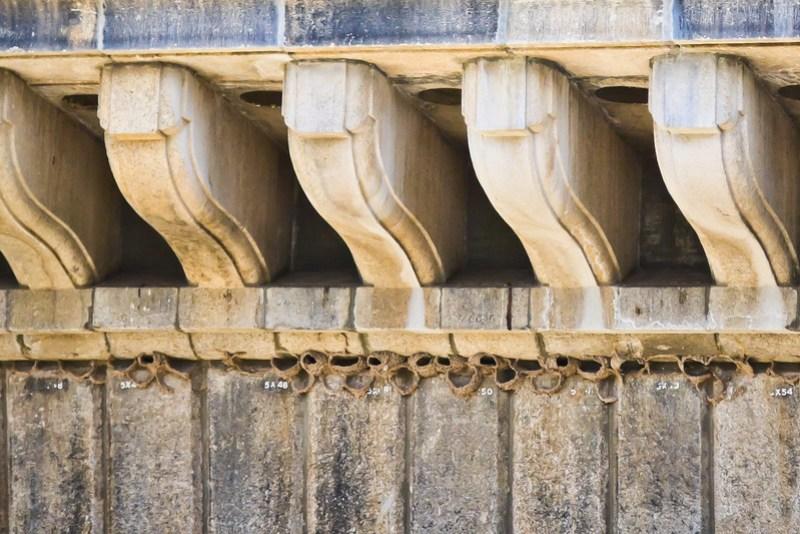 London Bridge numbered pieces