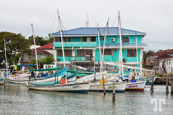 Marina in Belize City