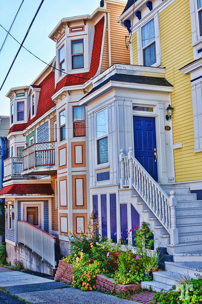 Colorful buildings in St. John's Newfoundland
