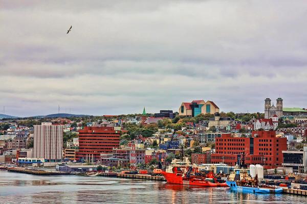 St. John's Newfoundland harbor