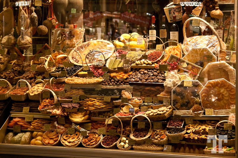 Candy shop in Munich, Germany