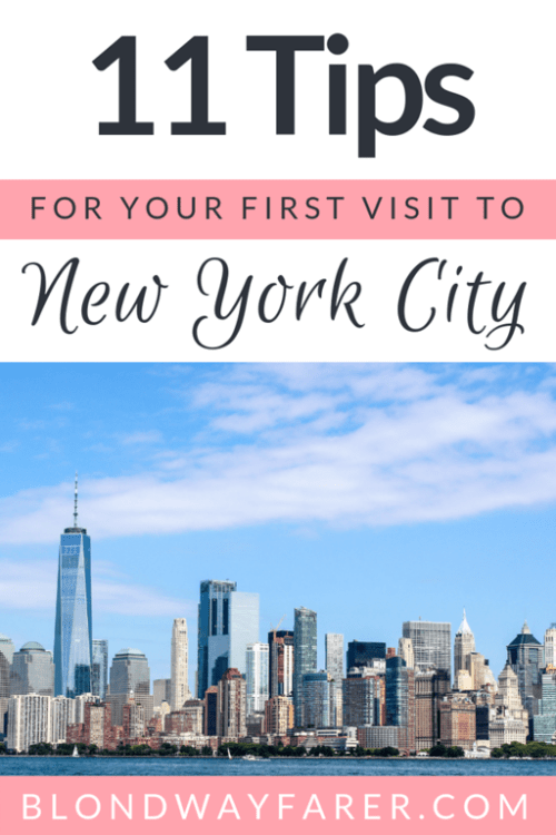 Tips for Visiting New York City for the First Time | visiting new york for the first time | visiting nyc for the first time | tips for first time visitors to new york | solo female travel new york | first time new york