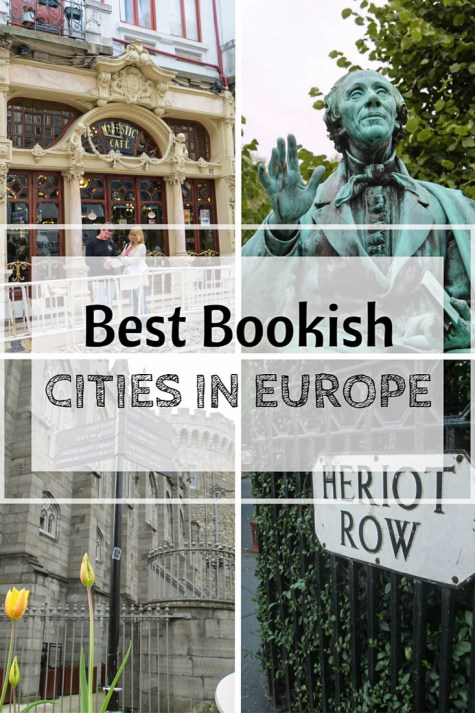 bookish cities in europe