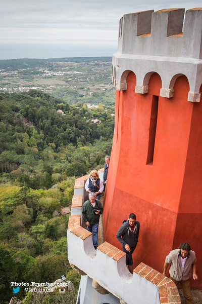 Pena Palace in Sintra (25km west of Lisbon)