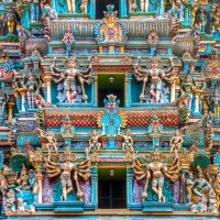 Merku Gopuram of Meenakshi Temple